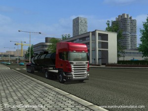 Euro Truck Simulator Screenshot